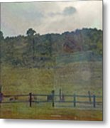 Virginia Dale-reflections On The Cemetery Metal Print