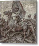 Virginia Monument Gettysburg Battlefield Metal Print