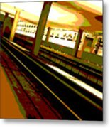 Virginia Square Metro I Metal Print