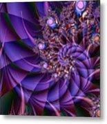 Virginias Violet Metal Print