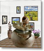 Virtual Exhibition - Source 33 Metal Print