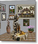 Virtual Exhibition - Source 34 Metal Print