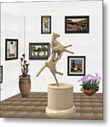 Virtual Exhibition_statue Of A Horse Metal Print