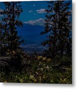 Virtuous Vista Metal Print
