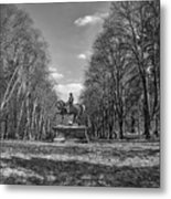 Viscount On Horseback. Metal Print