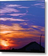 Visionary Sunset Metal Print