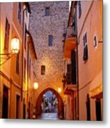 Visions Of Italy Archway Metal Print