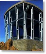 Visitor Center Atop Mt. Wellington Metal Print