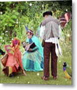 Visitors At A Fairy Blessing Metal Print