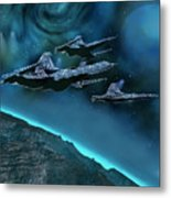 Visitors Metal Print by Corey Ford
