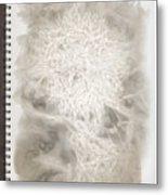 Visual Diary Dandelion Metal Print