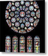 Vitraux - Cathedrale De Chartres - France Metal Print