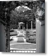 Vizcaya Garden Metal Print
