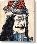 Vlad IIi (1431-1477) Metal Print