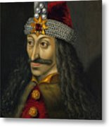 Vlad The Impaler Portrait  Metal Print