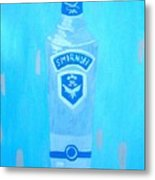Vodka Metal Print