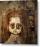 Voices In The Walls Metal Print