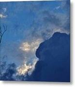 Volatile Autumn Weather Metal Print