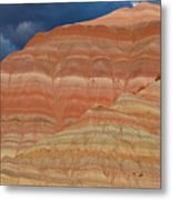 Volcanic Rainbow Metal Print