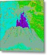 Volcano D4 Metal Print