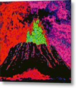 Volcano D5b Metal Print