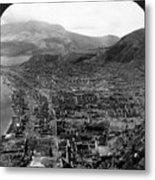 Volcano: Mount Pelee, 1902 Metal Print