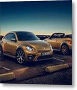 Volkswagen Beetle Dune 4k 2 Metal Print