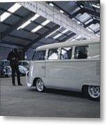 Volkswagen Microbus Metal Print