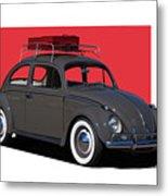 Volkswagen Vw Beetle Metal Print