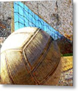 Volleyball Art Version 5 Metal Print