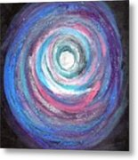 Vortex Of Love 2 Light Is Wave And Particle Metal Print