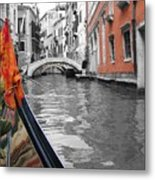 Voyage Of Venice Metal Print