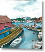 Vp Norway 5 Thorsastraen Metal Print