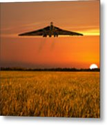 Vulcan Farewell Fly Past Metal Print