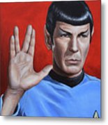 Vulcan Farewell Metal Print