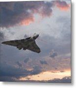 Vulcan Sunset Metal Print