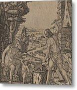 Vulcan, Venus, And Eros Metal Print