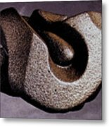 Vulcanized Structure Metal Print