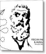 Vulcan's Airplane Metal Print
