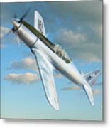 Vultee P 66 Experimental Fighter Metal Print