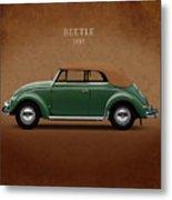 Vw Beetle 1953 Metal Print