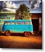 Vw Bus - Vw Kombi - Taquaral - São Metal Print