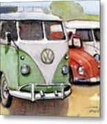 VW3 Metal Print