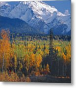 102238-v-w End Of Seven Sisters Mountain  Metal Print