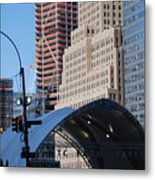 W T C Path Station Metal Print