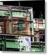 Wa State Convention And Trade Center Metal Print