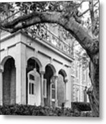 Wabash College Center Hall Metal Print