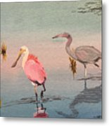 Wade Fishing The Laguna Metal Print