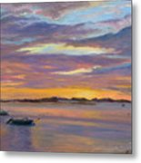 Wades Beach Sunset Metal Print