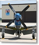 Wafb 09 P51 Mustang 2 - Darling Of The Sky Metal Print